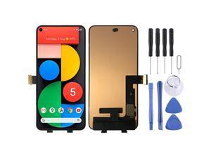 Original OLED Material LCD Screen and Digitizer Full Assembly for Google Pixel 5 GD1YQ GTT9Q Mobile Phone Repair Parts