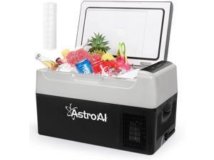 AstroAI Portable Car Refrigerator 23 Quart 12V Car Freezer Travel Fridge 22L (-4?~68?) Compressor Refrigerator for Truck, RV, Boat and Camping