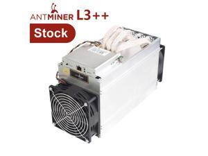 Bitmain ANTMINER L3++ ASIC Miner Scrypt Litecoin 580MH/s LTC Come with Doge Coin Mining Machine with New PSU Blockchain Miners Better Than ANTMINER L3 L3+ S9 S9J