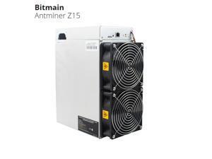 Newest Bitmain Antminer Z15 420ksol/s Zcash Asic Best Most Profitable Miner Antiminer Blockchain with PSU Equihash algorithm