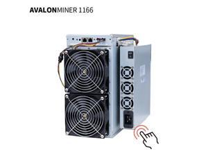 Avalon 2021 New Bitcoin miner AvalonMiner 1166 PRO 81TH/S profitable Asic mining Machine ( With Original Power Supply )SHA-256 New Arrival Blockchain Low Power Cost