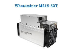 ASIC MINER BTC BCH whatsminer M21s miner 52th (with Integrated Power Supply) 3120W blockchain Bitcoin mining machine Blockchain Miners Better Than Antminer S9 S1 T9+ S15 T17