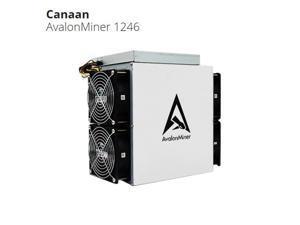 AvalonMiner 1246 83TH/s Bitcoin Miner Asic Miner Crypto SHA-256 BTC Mining Machine BCH With Original Power Supply 3420W