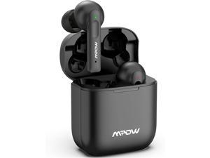 Mpow X3 Wireless Earbuds, True Wireless Earbuds Active Noise Cancellation, Touch Control ,27 Hrs Playtime with Charging Case, Earbuds Bluetooth 5.0, Waterproof IPX7, Quick Charge Type-C