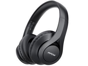Mpow 059 Lite Wireless Headphones, 60h Long Playtime,Bluetooth 5.0 Rock-solid Connection Headset,Hi-Fi Stereo Sound, CVC 6.0 Noise Reduction, Clear Calls, Crafted Comfort