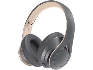 Mpow 059 Lite Wireless Headphones, 60h Long Playtime, Bluetooth 5.0 Rock-solid Connection Headset, Hi-Fi Stereo Sound, CVC 6.0 Noise Reduction, Clear Calls, Crafted Comfort