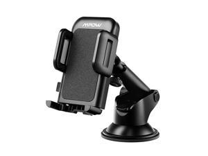 Mpow CA032E Car Phone Mount, Dashboard Car Phone Holder, Washable Strong Sticky Gel Pad with One-Touch Design Wide Compatible