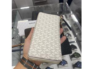Michael Kors (Fully Wrapped) Jet Set Travel Large Continental Wallet