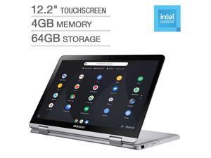 """New Samsung 12.2"""" Full HD Touchscreen 2-in-1 Chromebook Intel Celeron 3965Y Processor 4GB DDR4 RAM 64GB eMMC Chrome OS"""