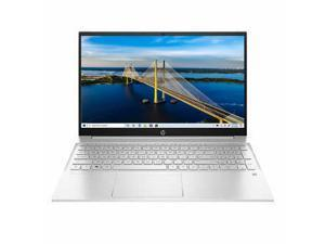 "New HP 15.6"" FHD  AMD Ryzen 7 5700U (8-Core) Processor 32GB RAM 1TB SSD Silver Backlit Keyboard Windows 10 Pro"