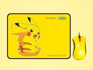 Razer Pokemon Bundle - DeathAdder Essential Gaming Mouse + Goliathus Speed Soft Mat Medium