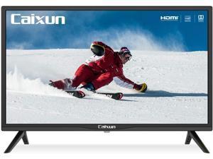 Caixun EC24Z2 24 inch HD 720P LED TV with Built-in HDMI, USB, VGA, Earphone, Optical Ports