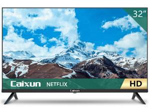 Caixun EC32S2N 32 inch HD HDR Smart TV with Screencast Built-in, Screen Share, HDMI, USB