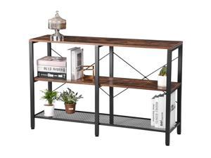 Utility Storage Shelf, Three-Tier Storage Shelf, 300 pounds load-bearing, suitable for living room, bedroom and hallway