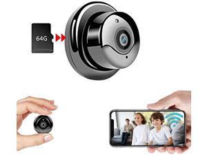 Mini Camera Nanny Camera WiFi Indoor Camera, Home Surveillance Camera, IP CCTV Surveillance, with Night Vision, Motion Detection, Baby Monitor, pet Camera, Mobile APP Surveillance
