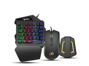 Gaming Keyboard and Mouse Combo, Keyboard Mouse Converter Kit Gaming Adapter Base Kit Fit for Android System Compatible for NSwitch/Xbox ONE/PS4/PS3