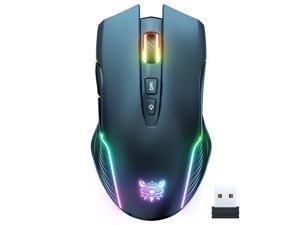 ONIKUMA-CW905 wireless gaming mouse 2.4G backlit RGB electronic sports computer optical mouse 3600 DPI 5-speed 7-key laptop