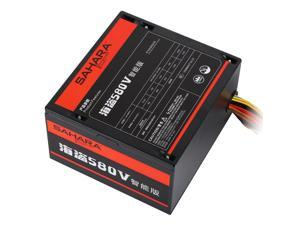 SAHARA PC Power Supply Max 550W Rated 400W For ATX Gaming Computer Server PSU 24PIN 12V Supply Mining PC Source Bitcoin Gamer