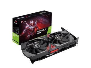 iGame GeForce GTX 1650 Ultra OC 4G GDDR6 Graphics Card 128-Bit HDMI/DP/DVI Support DirectX 12 Dual Fan gpu(Full Metal backplane)