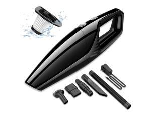 helloleiboo Car Vacuum Cleaner Cordless High Power Suction Handheld Vacuum Portable Vacuum for Detailing and Car Interior Cleaning