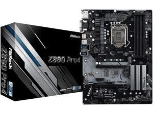 ASRock Z390 Pro 4 Intel 300 Series ATX Motherboard