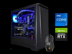 Supernova Gaming Lynx Ready to Ship - Lifetime Warranty PC - RTX 3070 & Intel i7-11700K - 32GB HyperX Fury RGB RAM 3600MHz - 1TB Crucial P5 NVMe SSD - 750W Corsair RMx 80+ Gold PSU - Windows 10 Home