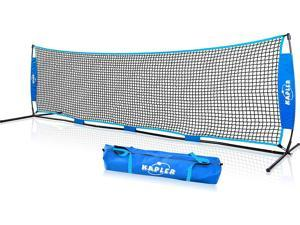 Kapler 10x3FT Tennis Net Set for Kids, Portable & Moveable Kids Tennis Net with carrying Bag, Small Tennis Net for 1-on-1 Adult Tennis Practice Play.