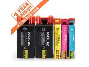 5PK 902XL 2KCMY Ink Cartridge Compatible for HP 902 Officejet Pro 6960 6968 6970 6975 6978