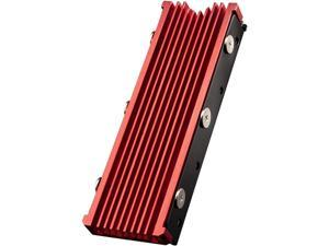 M.2 heatsink 2280 SSD Double-Sided Heat Sink with Thermal Silicone pad for Computer PC PS5 PCIE NVME M.2 SSD or NGFF SATA M.2 SSD