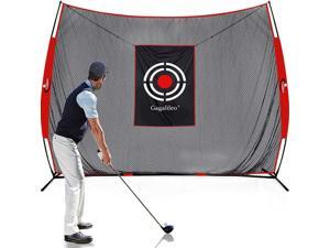 Gagalileo Golf Net for Indoor Use,Outdoor Golf Net,Golf Ball Protection Net,Home Driving Range,Golf Hitting Net for Backyard,Golf Driving Net with Target and Carry Bag(Size Optional)
