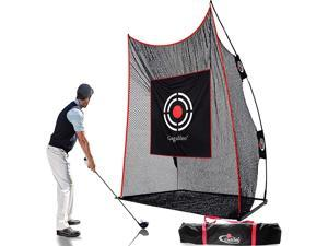 Gagalileo Golf Hitting Net,Golf Training Nets,Golf Net for Indoor,Golf Driving Net,Golf Practice Net,Golf Swing Net with Target Cloth and Carry Bag(Size Optional)