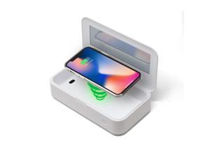 CleanTray™ Charge Wireless Charging UV Light Sterilizer; White