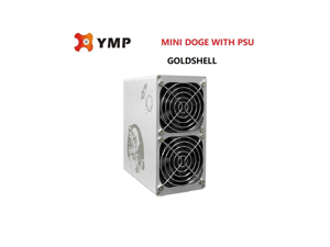 Goldshell Mini-DOGE 185MH/S(without PSU) DOGE& LTC Mining Machine Low noise Small&simple Home Mining Home Riching