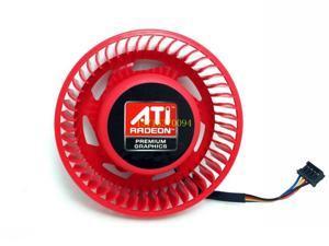 shiiping  BASA0725R2U ATI worm gear fan HD 5850  HD 6870  HD 6950 HD6970 graphics card fan