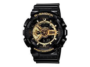 Casio G-Shock GA-110BR Analog-Digital Dial Black & Gold Men's Watch NEW IN BOX