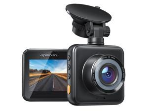 APEMAN Mini Dash Cam 1080P Dash Camera for Cars, Super Night Vision, 170° Wide Angle, Motion Detection, Parking Monitoring, G-Sensor, Loop Recording(SD card in NOT include)