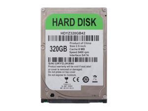 2.5'' Internal Hard Drive Disk SATA 5400RPM 8M Cache HDD for Laptop 320GB