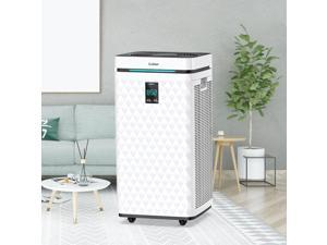 Colzer 3500 Sq Ft Wifi Air Purifier for Home Large Room with Activated Carbon Filter Quickly Purify Air to Fresh, Captures Dust Bad Smells Super Quiet Sleep Mode for Home Bedroom