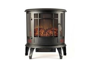 """Gibson Living 22"""" Heater Vent Free Curved Electric Fireplace Stove Better than Wood Fireplaces, Gas Logs, Wall Mounted, Log Sets, Gas, Space Heaters, Propane, Gel, Ethanol, Tabletop"""