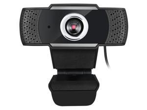 Cybertrack H4 - High resolution desktop webcam 1080P - 1080P Manual Focus High Definition - 2.1 Megapixel CMOS sensor - Video Conferencing - Built-in microphone