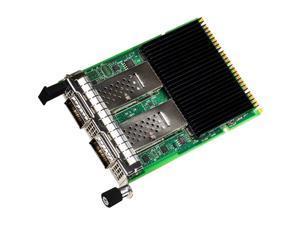 Intel Ethernet Network Adapter E810-CQDA2 for OCP 3.0 - PCI Express 4.0 x16 - 2 Port(s) - Optical Fiber - 100GBase-X - Plug-in Card