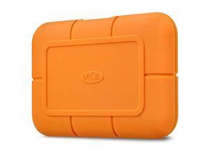 LaCie Rugged SSD 2TB USB 3.1 Gen 2, Type-C Professional NVMe SSD