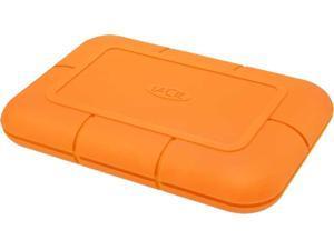 LaCie Rugged SSD 500GB USB 3.1 Gen 2, Type-C Professional NVMe SSD