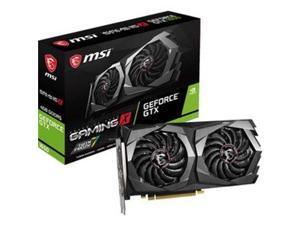 MSI GeForce GTX 1650 DirectX 12 G165D6GX 4GB 128-Bit GDDR6 PCI Express 3.0 x16 HDCP Ready Video Card