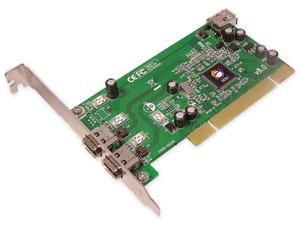 SIIG FireWire (1394) 3-Port (Two External, One Internal) PCI i/e Adapter
