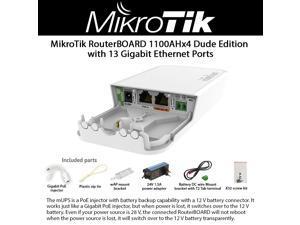 Black BV-Tech BV-I100GH 30W High Power Gigabit 802.3at//af Over Ethernet Injector
