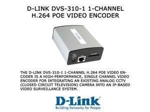 D-Link DVS-310-1 1-Channel H.264 PoE Video Encoder