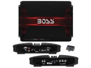 Boss Audio PM2500 Phantom Series Class AB Monoblock Amp 2,500W