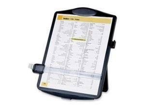 "Easel Document Holders, Adjustable, 10""x2""x14"", Black"