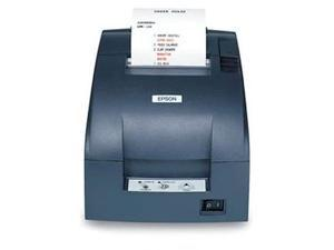 "Epson TM-U220B 3"" Impact Dot Matrix Receipt Printer, Ethernet (E04), MPOS, DHCP Enabled, Auto Cutter, Dark Gray - C31C514A7881"